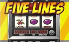 Игровой автомат Five Lines Slot