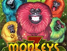 Игровой автомат Делайте ставки и выигрывайте в новом игровом автомате 7 Monkeys