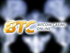 Игровой автомат В Casino BTC разыскиваются «Космические захватчики»