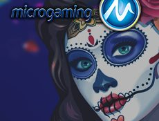Игровой автомат Microgaming представили эмулятор по мотивам Дня Мертвых