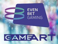 Игровой автомат Игры Game Art внедрят в платформу EvenBet Gaming