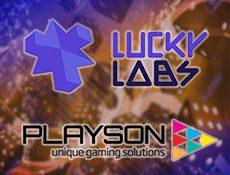 Игровой автомат Украинская компания Lucky Labs будет сотрудничать с Playson